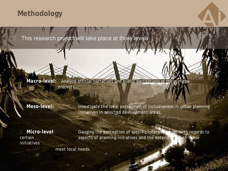 Methodology This research project will take place at three levels:   Macro-level: Analyze official narratives and public...