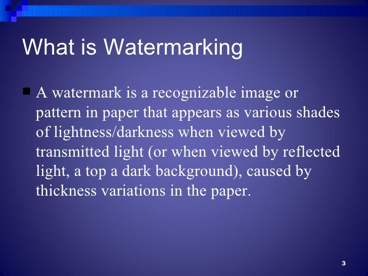 hidden watermark paper Secured transcript paper: a hidden image or text appears when photocopied but not to the naked eye global watermark protection.
