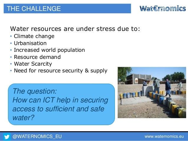 Waternomics - ICT for Water Resource Management - (Engineers