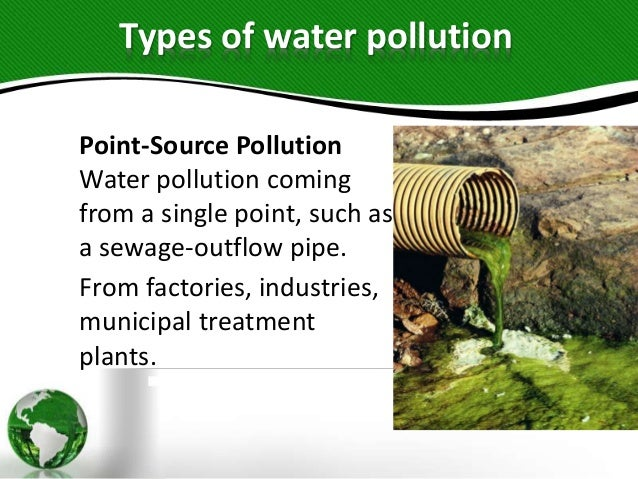 nonpoint source pollution water effects environmental