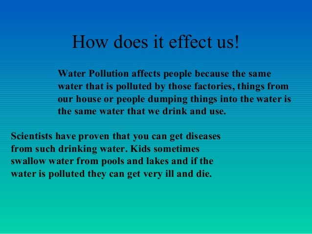 how to stop the pollution of water