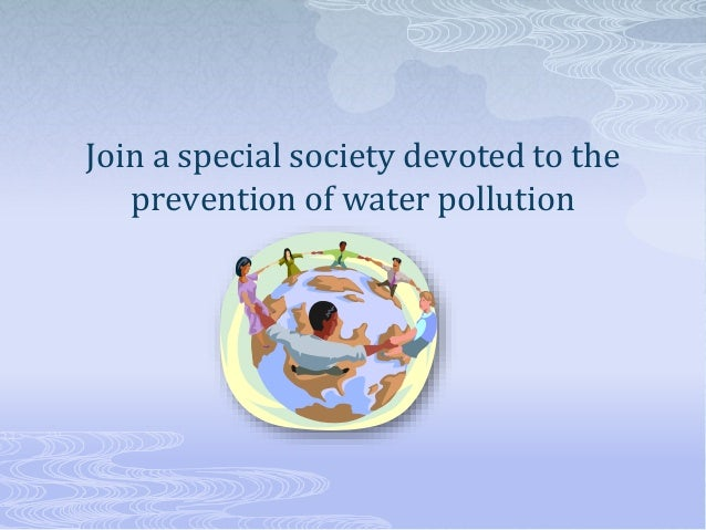 Water pollution ppt for class 9th