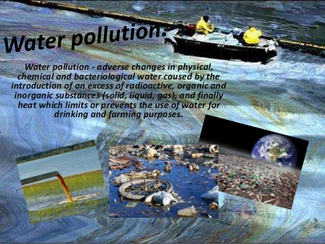 physical and chemical pollutants in brisbanes water Study of some physical & chemical characteristic it is mandatory to monitor the quality of potable ground water to alleviate the problem of pollution in water and.