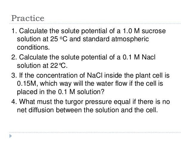 how to make 1m sucrose solution