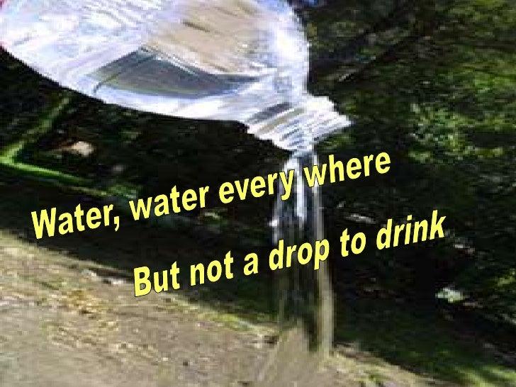 PACKAGED WATER INDUSTRY        Leader           :- Gopal Prasad    Presenter        :- Gyanendra Goel    Content collector...