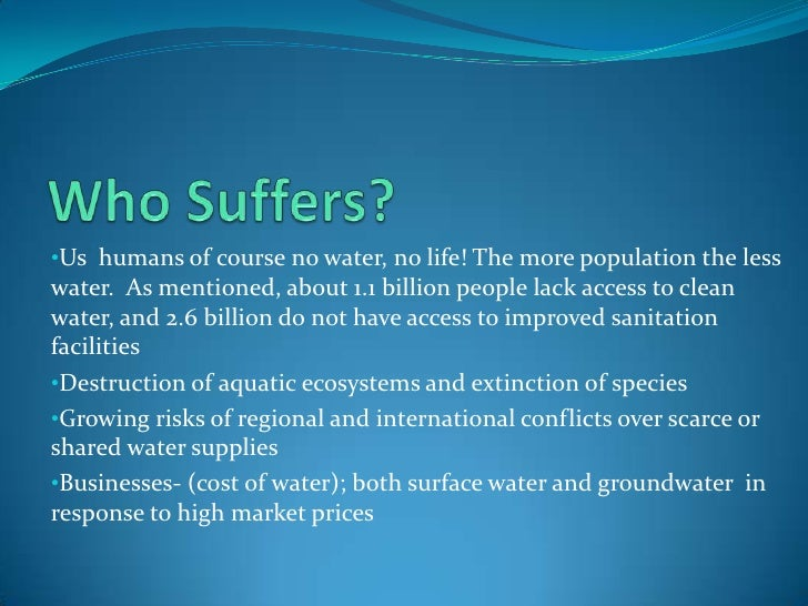 essay importance of water Water is one of the natures precious gifts to mankind all living things consist mostly of water eg the human body is of two thirds of water.