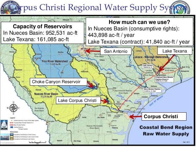 Water presentation port of corpus christi
