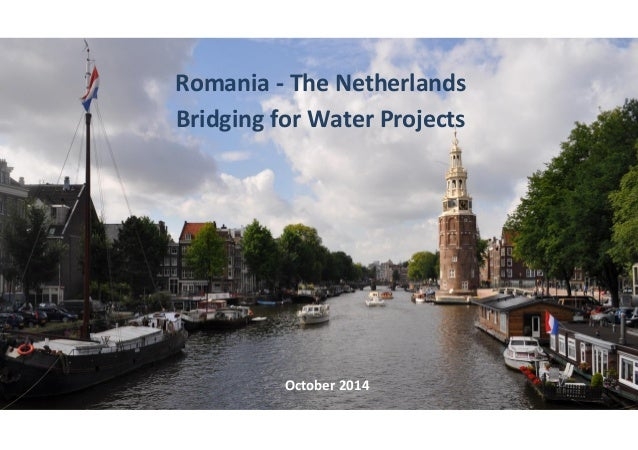 dfa  Romania - The Netherlands  Bridging for Water Projects  October 2014
