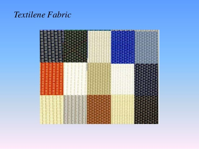 Wonderful Textilene Fabric; 8. Part 4