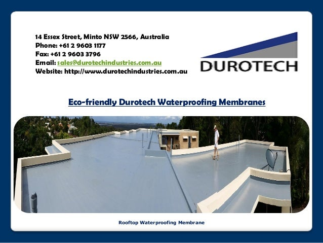Waterproofing Planter Boxes : Planter box waterproofing membrane