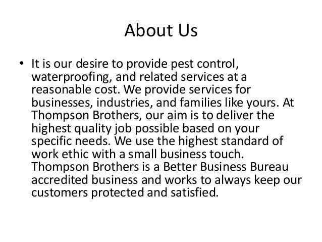 Pest Control Services Slide 2