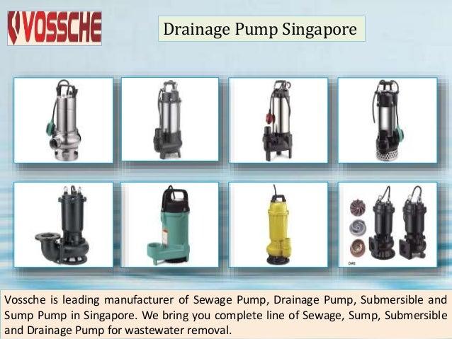 Water pump singapore Slide 2