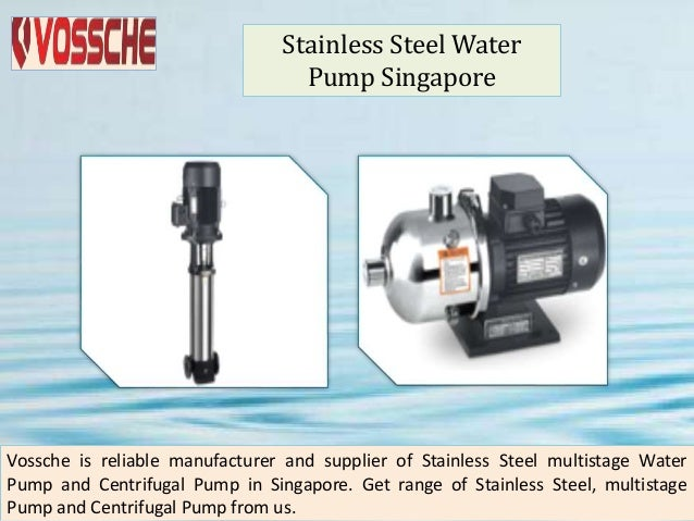 Water pump singapore Slide 3
