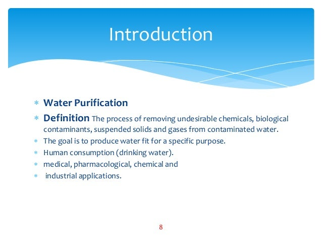 what is water pollution definition pdf