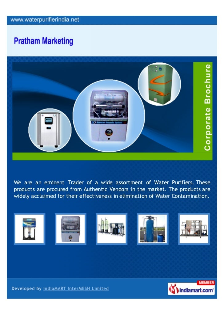 We are an eminent Trader of a wide assortment of Water Purifiers. Theseproducts are procured from Authentic Vendors in the...