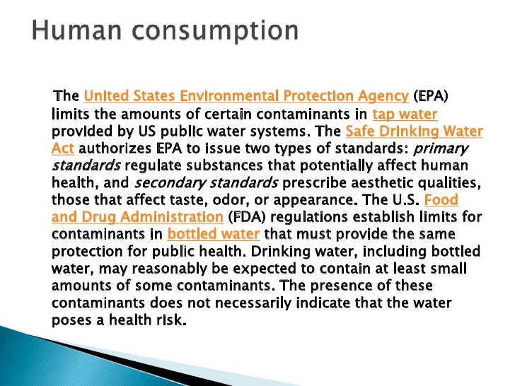 Some people use water purificationtechnology to remove contaminantsfrom the municipal water supply theyget in their homes,...