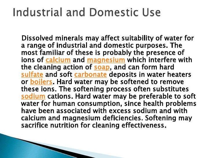 Environmental water quality, also calledambient water quality, relates to water bodiessuch as lakes, rivers, and oceans. W...