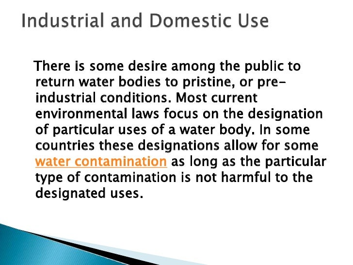 The complexity of water quality as a subject isreflected in the many types of measurements ofwater quality indicators. The...