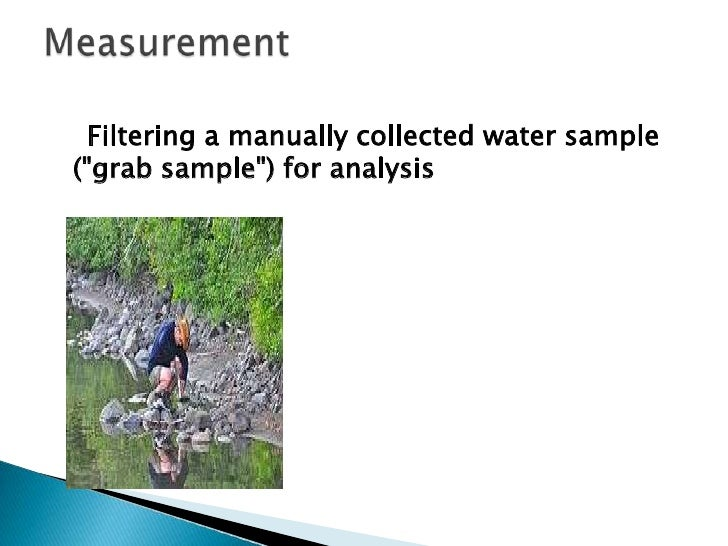 The second artificial sample is collected withthe sample of interest, but then spiked with ameasured additional amount of ...