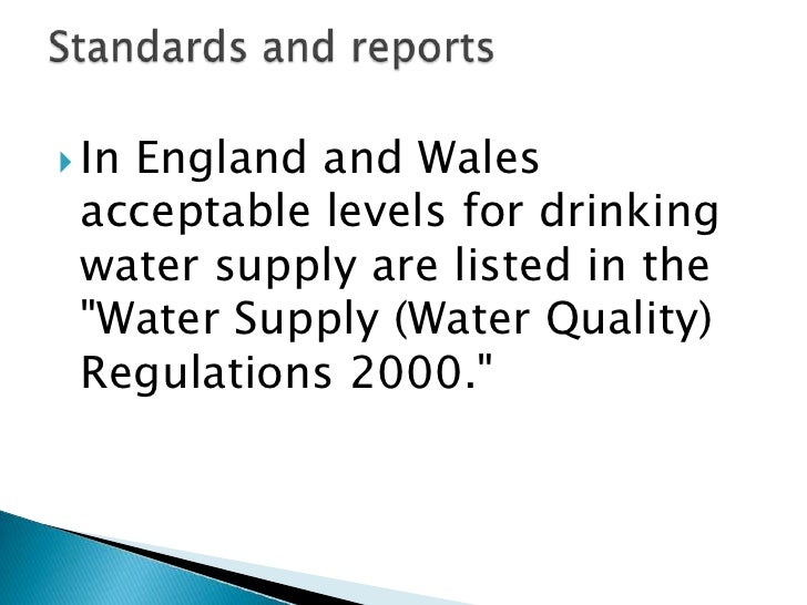    Should evidence suggest or document that a    stream, river or lake has failed to meet the    water quality criteria f...