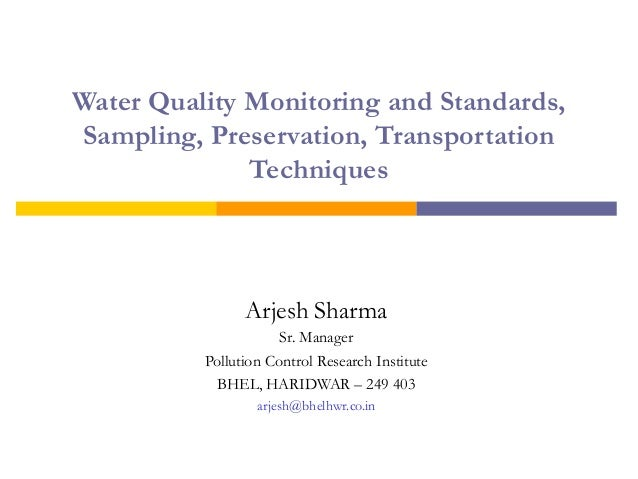 thesis on water quality monitoring Thesis topics on water quality professional essay and resume writing services offering expertise in writing cvs, resumes and cover letters customized by the industry.