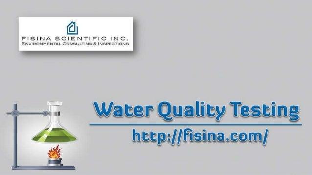 water quality testing. Black Bedroom Furniture Sets. Home Design Ideas
