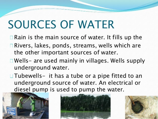 th importance of fresh water as the most important natural resources A natural resource is what people can use which comes from the natural environmentexamples of natural resources are air, water, wood, oil, wind energy, natural gas, iron, and coal.