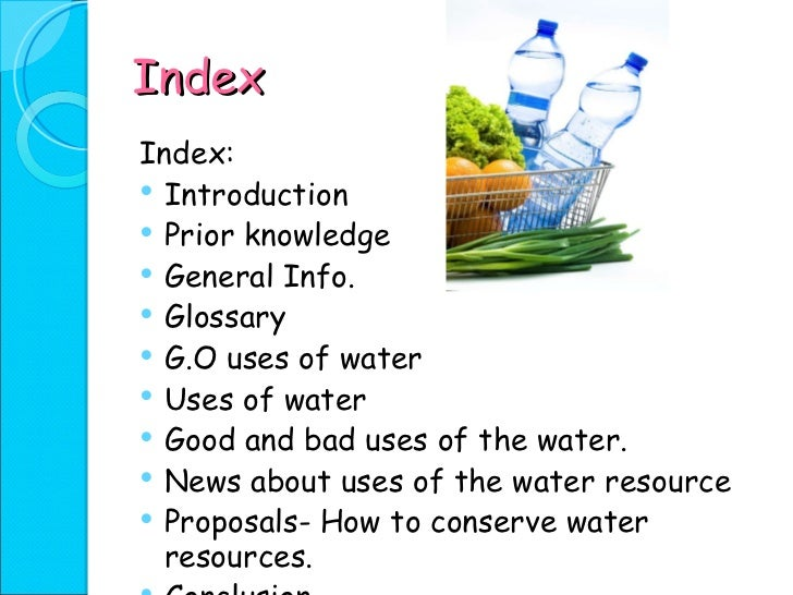 water resources power point presentation