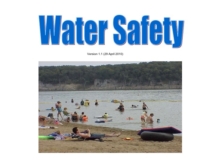 Water Safety Version 1.1 (29 April 2010)
