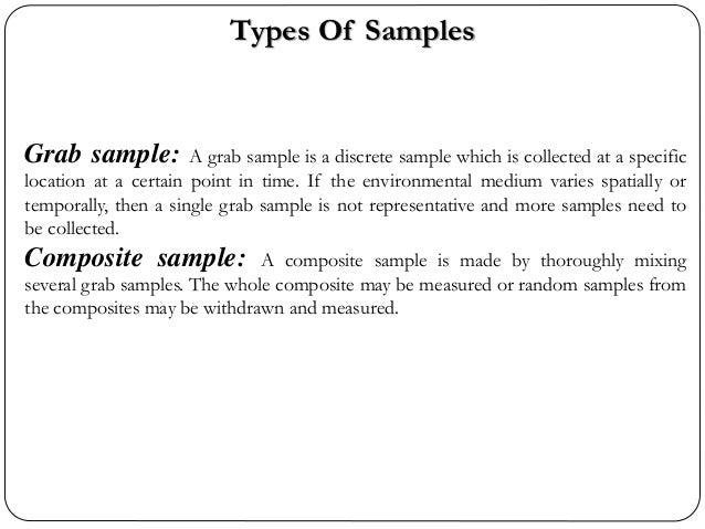 Water sampling methods and tools