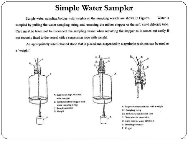 Simple Water Sampler