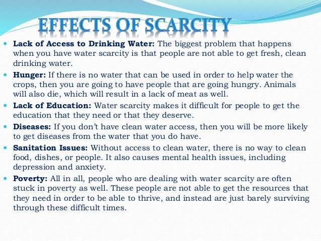 essay about scarcity Essay writing guide  irrespective of the type of economic system discuss scarcity is the inability to satisfy all wants of due to a lack in resources or.