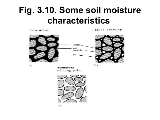 Water science l3 available soil water 150912ed for Soil characteristics definition