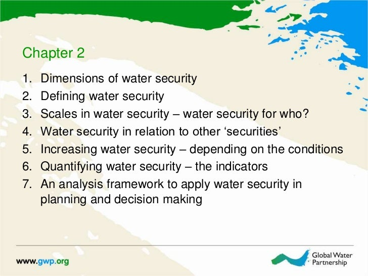 water security in canada essay Protected paper offers the most effective security paper and security printing our patented authentiguard void pantograph technology protects your secure documents from counterfeiting, copying or scanning.