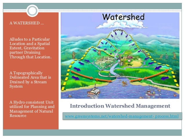 watershed management ppt