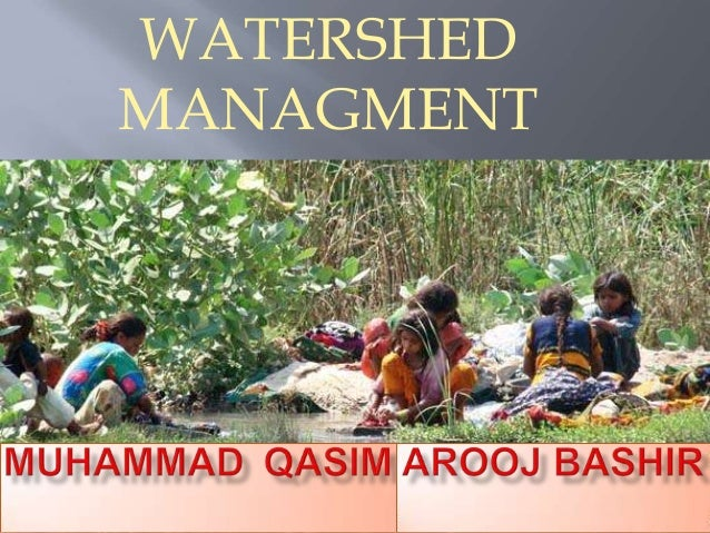 WATERSHED MANAGMENT