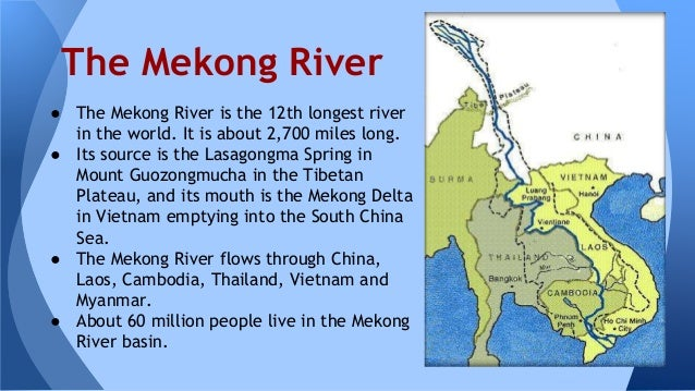 Waters Of East And Southeast Asia - 3 longest rivers in the world