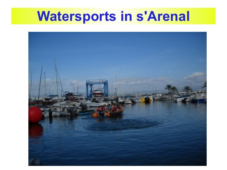 Watersports in sArenal