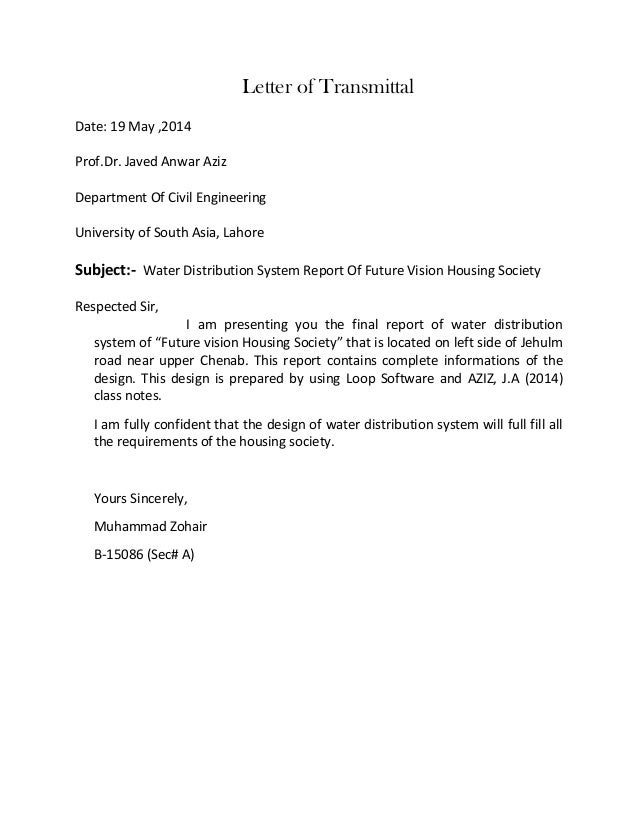 Letter of transmittal engineering antaexpocoaching letter of transmittal engineering spiritdancerdesigns Choice Image