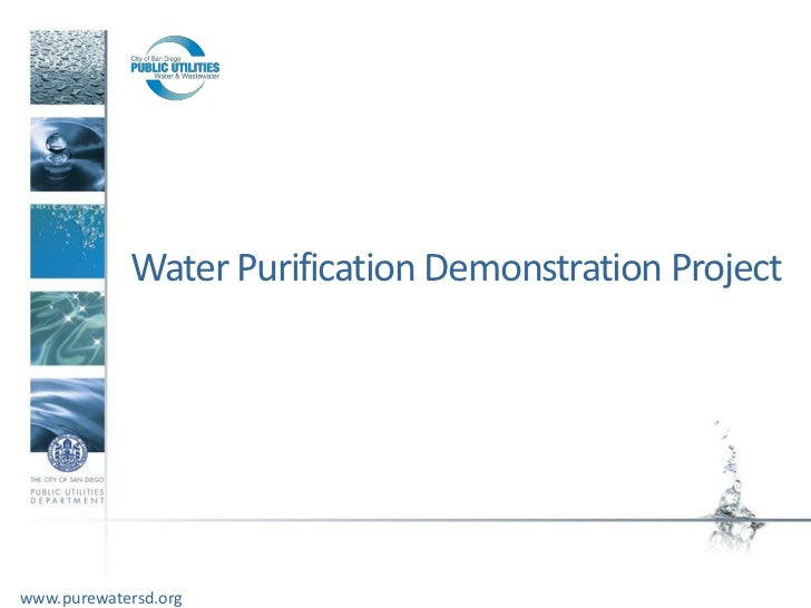 Water Purification Demonstration Projectwww.purewatersd.org