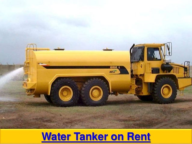 Water tanker on rent in mumbai