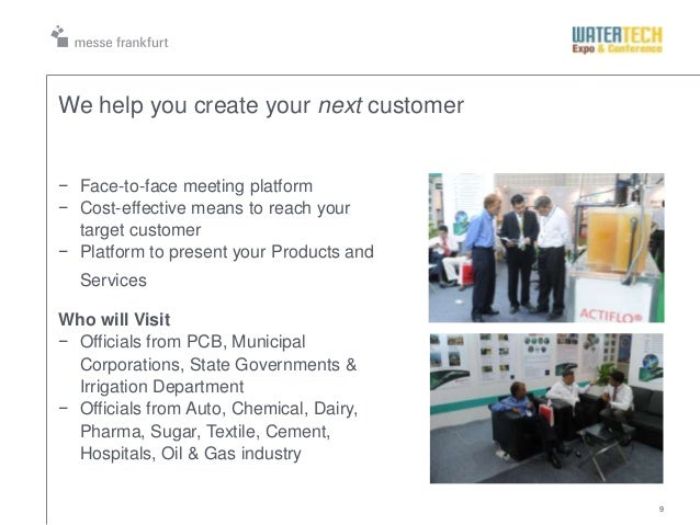 9We help you create your next customer− Face-to-face meeting platform− Cost-effective means to reach yourtarget customer− ...