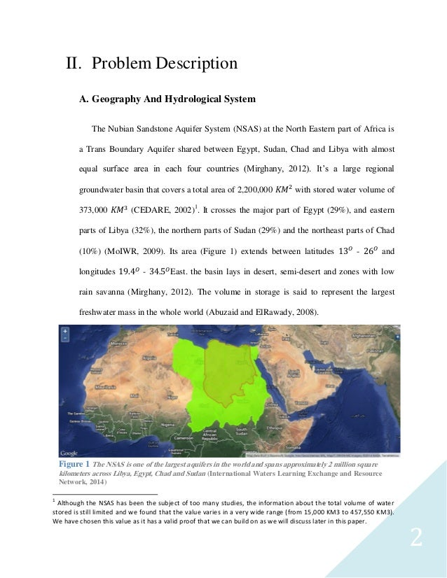 aquifer study thesis The lower cretaceous aquifer in the study area is characterized by moderate to   egypt phd thesis, fac sci mansoura university, egypt.