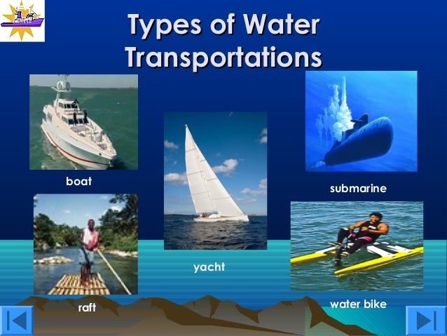 Water Transportation New