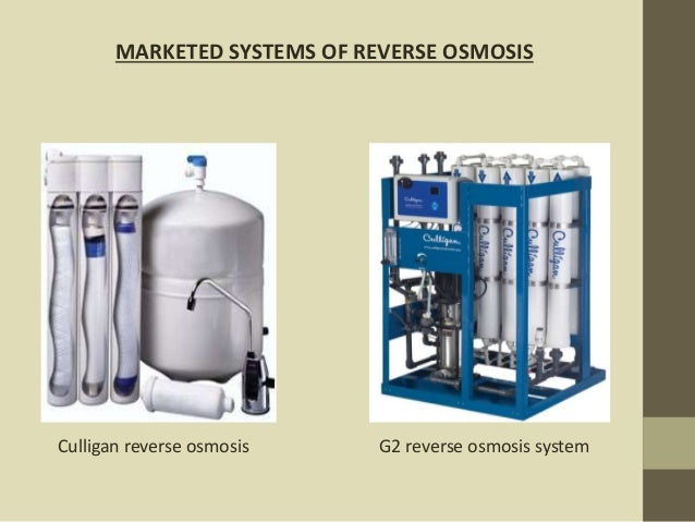 Water Treatment Process By Ro Uf