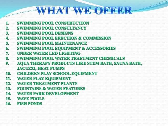 Water treatment and swimming pool equipment by srr aqua - Swimming pool green water treatment ...
