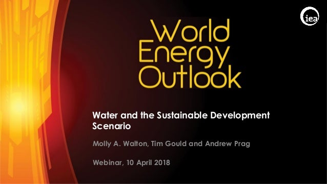 © OECD/IEA 2017 Water and the Sustainable Development Scenario Molly A. Walton, Tim Gould and Andrew Prag Webinar, 10 Apri...
