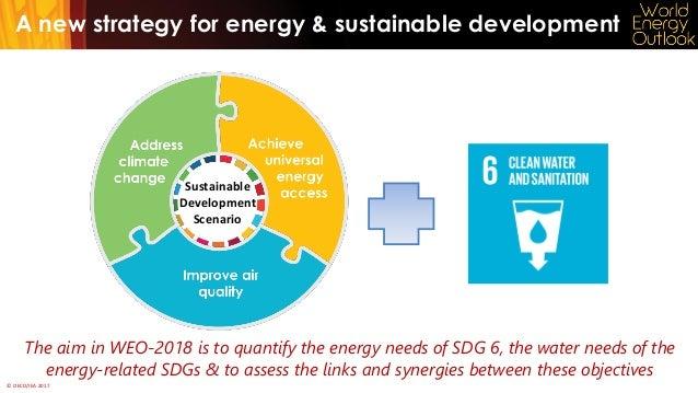 Water and the Sustainable Development Scenario Slide 3