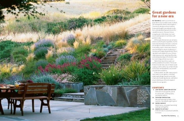 Easy Water Wise Gardening San Diego California