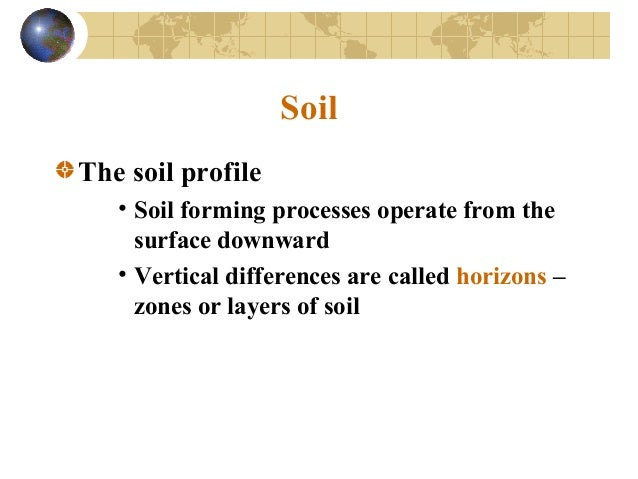 Wathering and soil 1 for Soil zone of accumulation